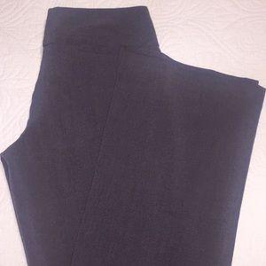 Pants - Boot cut grey slacks